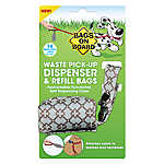 Bags on Board® Blue Diamond Waste Pick Up Bag Dispenser