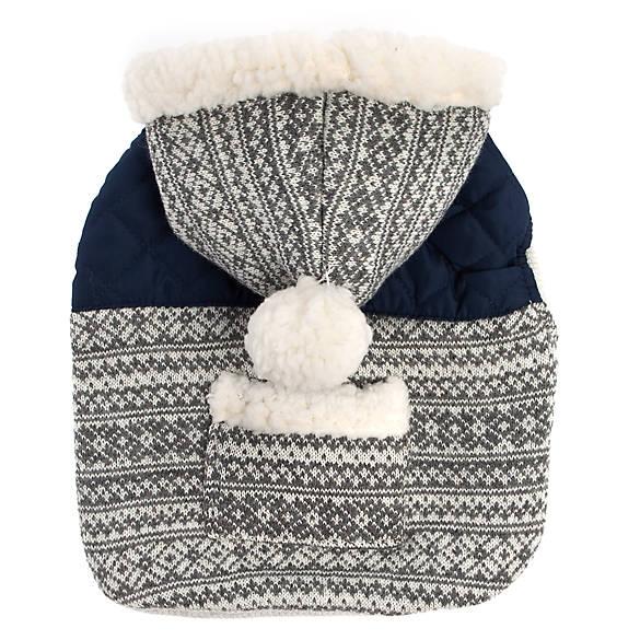 Top Paw® Holiday Fair Isle Pet Hoodie | dog Sweaters & Coats ...