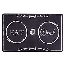 Grreat Choice® Chalkboard Pet Feeding Placemat