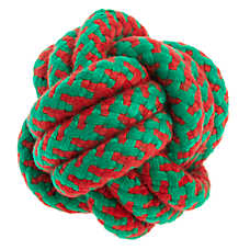 Pet Holiday™ Rope Ball Dog Toy