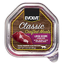 Evolve® Classic Crafted Meals Cat Food - Liver