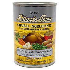 Evolve® Nature's Menu Dog Food - Natural, Chicken & Pasta