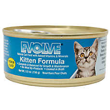 Evolve® Kitten Food - Natural
