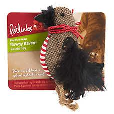 Petlinks® Rowdy Raven™ Catnip Cat Toy