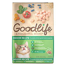 Goodlife Indoor Adult Cat Food - Natural, Chicken