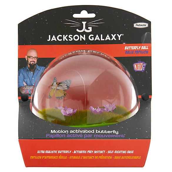 Jackson galaxy butterfly ball cat toy cat electronic for Jackson galaxy shop