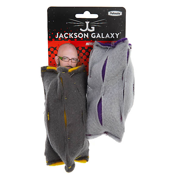 Jackson galaxy meteorites cat toys 2 pack cat multi for Jackson galaxy cat toys