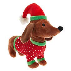 Pet Holiday™ Pajama Dog Toy - Plush, Squeaker