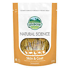 Oxbow Natural Science Skin & Coat Small Animal Supplement