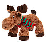 Pet Holiday™ Moose Dog Toy - Plush, Squeaker