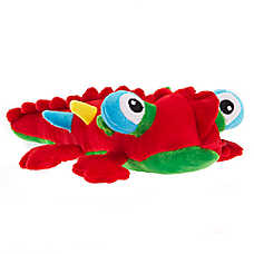 Pet Holiday™ Lizard Dog Toy - Plush, Squeaker