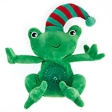 Pet Holiday™ Frog Light-Up Belly Dog Toy - Plush