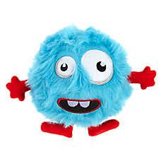 Pet Holiday™ Monster Squeaker Ball Dog Toy - Plush, Squeaker