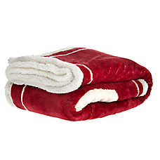 "PetSmart Holiday ""I Whine, She Wines"" Pet Blanket"