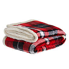 PetSmart Holiday Plaid Pet Blanket