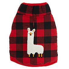 Top Paw® Holiday Llama Dog Fleece