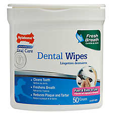 Nylabone® Advanced Oral Care Dental Wipes
