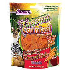Brown's® Tropical Carnival® Crunchy Carrot Cake Small Animal Treats