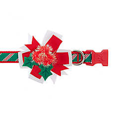 Pet Holiday™ Mistletoe Adjustable Dog Collar