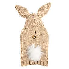 Top Paw® Bunny Sweater Pet Hoodie