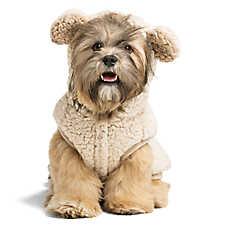 Top Paw® Sherpa Bear Pet Hoodie