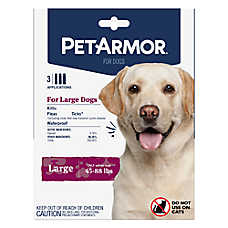 PetArmor® for Dogs 45-88 lbs Flea & Tick Spot On Treatment - 3 Count