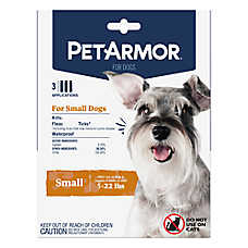 PetArmor® for Dogs 5-22 lbs Flea & Tick Spot On Treatment - 3 Count