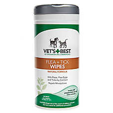 Vet's Best® Flea + Tick Pet Wipes