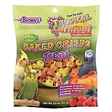 Brown's® Tropical Carnival® Natural Baked Crisps Treats