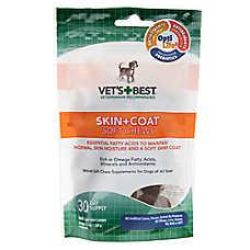 Vet's Best® Skin + Coat Soft Dog Chews