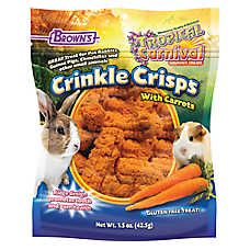 Brown's® Tropical Carnival® Crinkle Crisps with Carrots Small Animal Treats