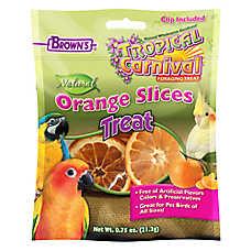 Brown's® Tropical Carnival® Natural Orange Slices Bird Treat