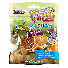 Brown's® Tropical Carnival® Natural Orange Slices Small Animal Treat
