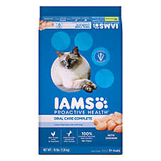 Iams® ProActive Health™ Oral Care Complete Adult Cat Food - Chicken
