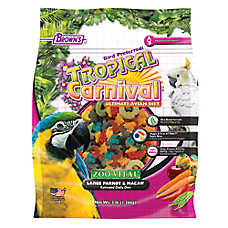 Brown's® Tropical Carnival® Large Parrot & Macaw Food