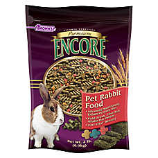 Brown's® Encore® Premium Rabbit Food