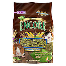 Brown's® Encore® Classic Natural Guinea Pig Food