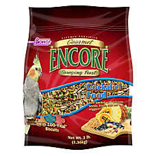Brown's® Encore® Foraging Feast Cockatiels Food