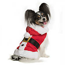 Pet Holiday™ Santa Hoodie Dog Costume