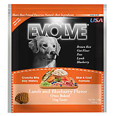 Evolve® Dog Treat - Lamb & Blueberry