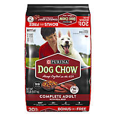 Purina® Dog Chow® Complete Adult Dog Food - Beef