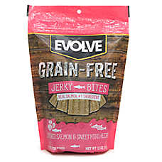Evolve® Jerky Dog Treat - Salmon & Sweet Potato