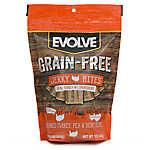 Evolve® Jerky Dog Treat - Turkey, Pea & Berry