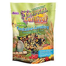 Brown's® Tropical Carnival® Natural Cockatiel & Lovebird Food