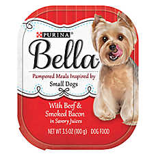 Purina® Bella Small Dog Food - Beef & Smoked Bacon