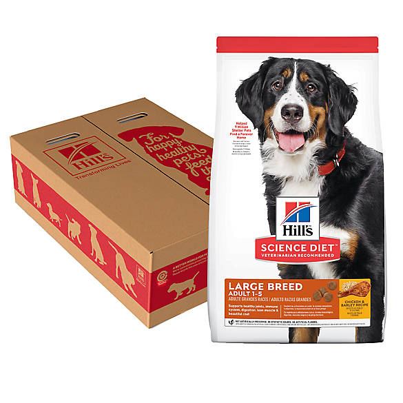 Hill S 174 Science Diet 174 Large Breed Adult Dog Food Chicken