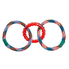 Top Paw® Ring & Rope Rings Dog Toy