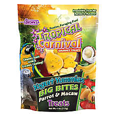 Brown's® Tropical Carnival® Yogurt Yummies Big Bites Parrot & Macaw Treats