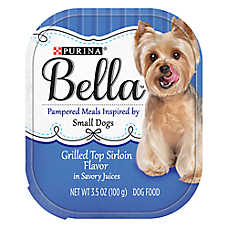 Purina® Bella Small Dog Food - Grilled Top Sirloin Flavor
