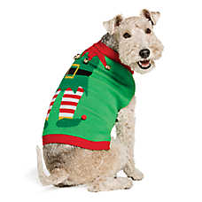 Pet Holiday™ Elf Dog Sweater
